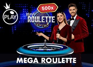 Mega Roulette рулетка лайв 1win